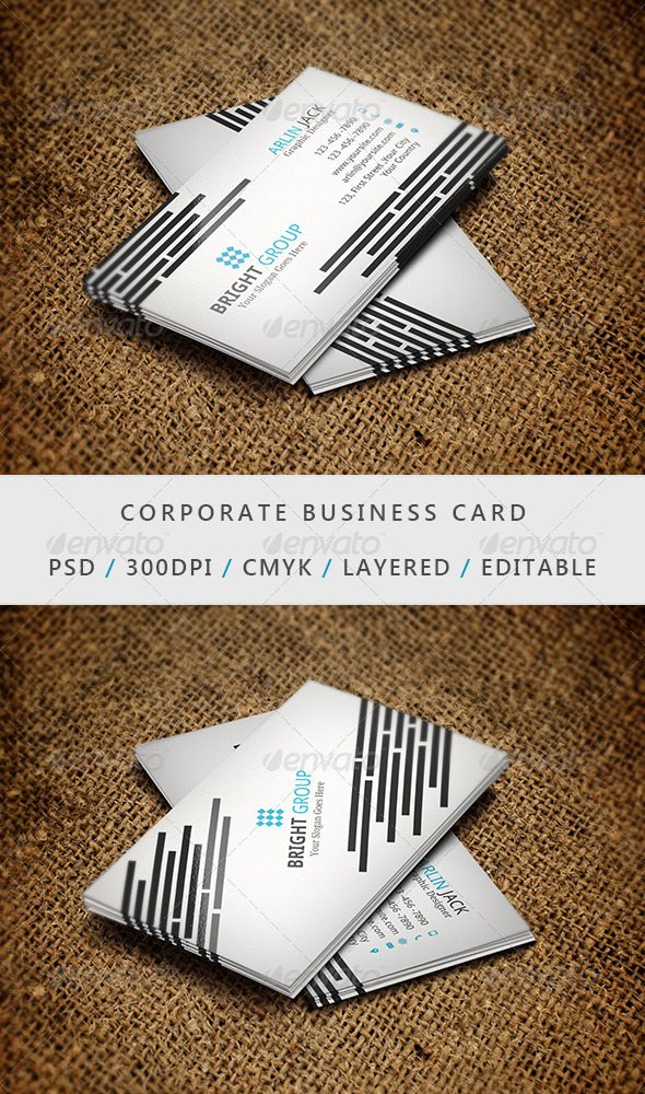 Business Card - 15 - Corporate Business Cards