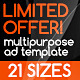 Multipurpose Banners Set - GraphicRiver Item for Sale