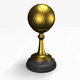 Football Trophy - 3DOcean Item for Sale