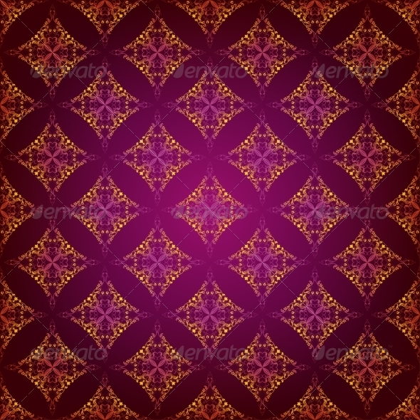 Damask Seamless Floral Pattern - Backgrounds Decorative
