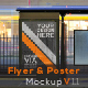 Flyer & Poster Mock-Up - GraphicRiver Item for Sale