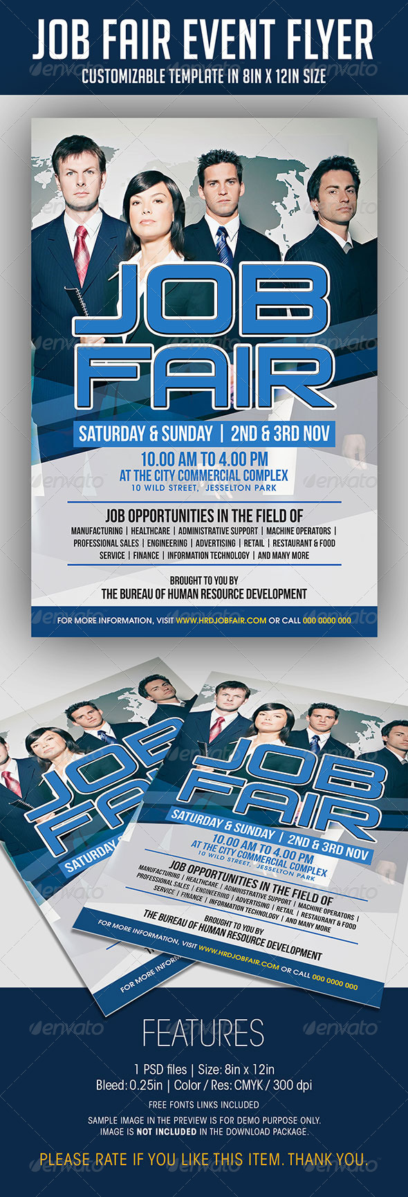 job fair event flyer events flyers