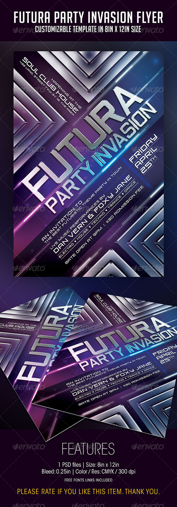 Futura Party Invasion - Clubs & Parties Events