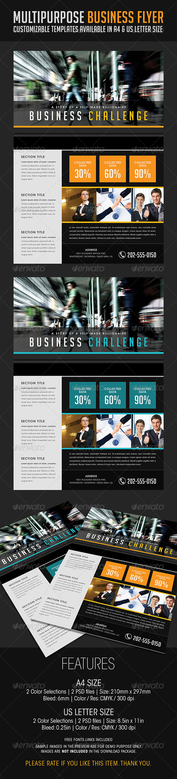 Multipurpose Business Flyer 07 - Corporate Flyers