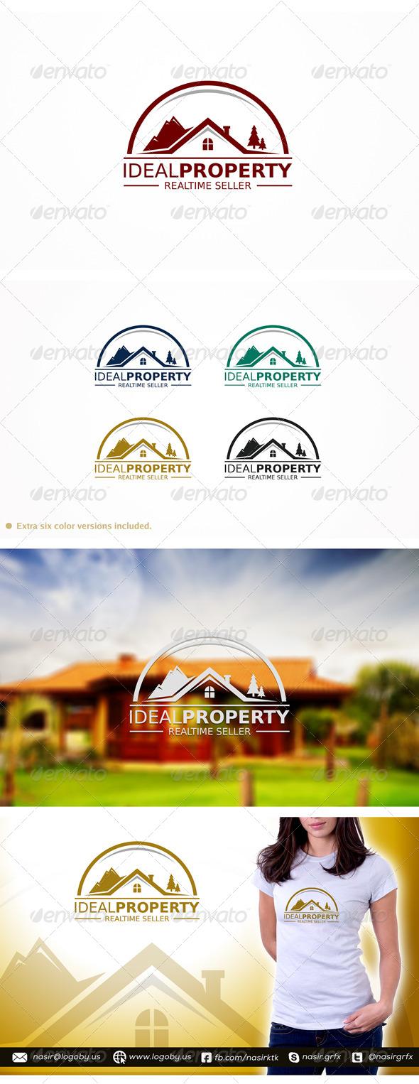 Idael Property  - Buildings Logo Templates