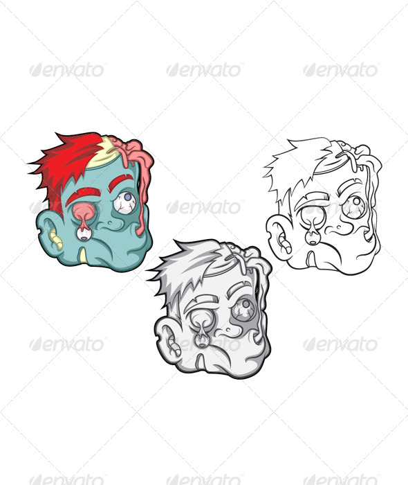 Brain Eater Vector  - Monsters Characters