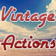 Vintage Actions - GraphicRiver Item for Sale