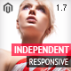 Independent - Responsive Magento Theme Nulled