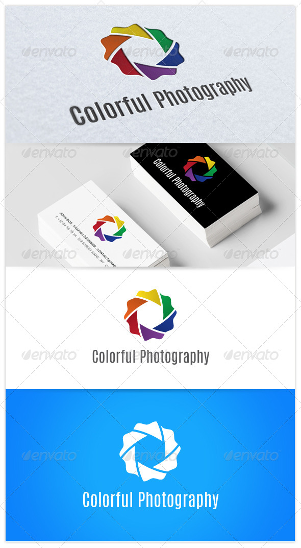 Colorful Photography - Objects Logo Templates
