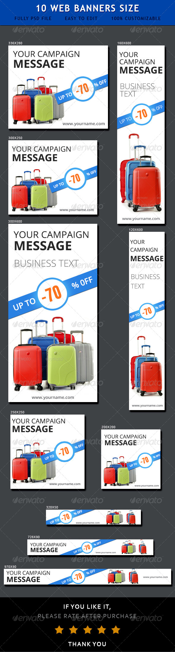 Sale Ad Banners  - Banners & Ads Web Elements