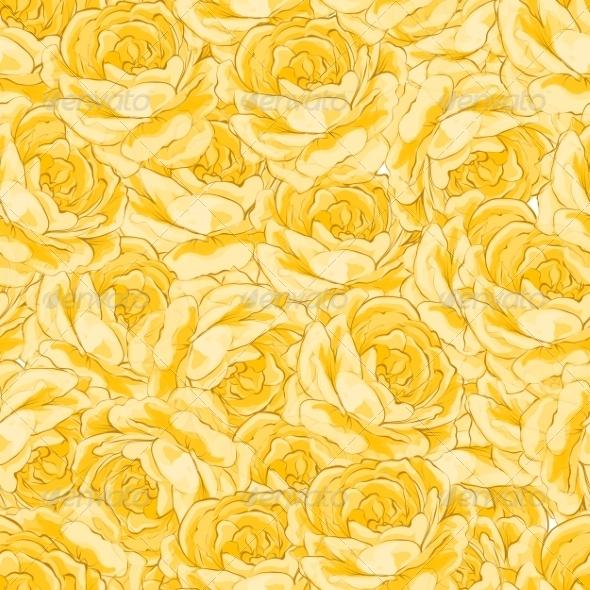Rose Pattern - Backgrounds Decorative