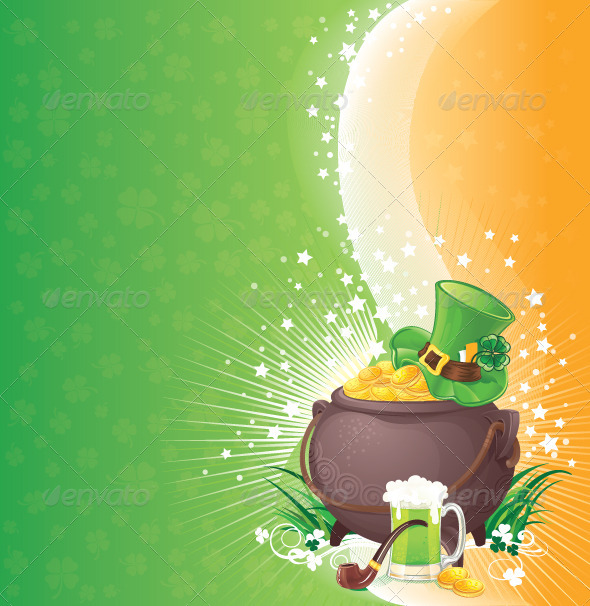 Saint Patrick's Day Background - Seasons/Holidays Conceptual