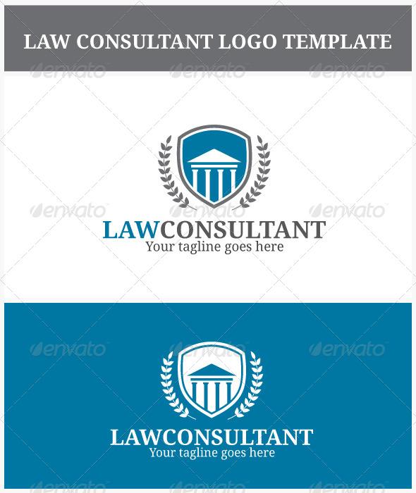 Law Consultant Logo - Symbols Logo Templates