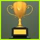 Golden Trophy - GraphicRiver Item for Sale