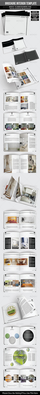Square Interior Brochure - Brochures Print Templates