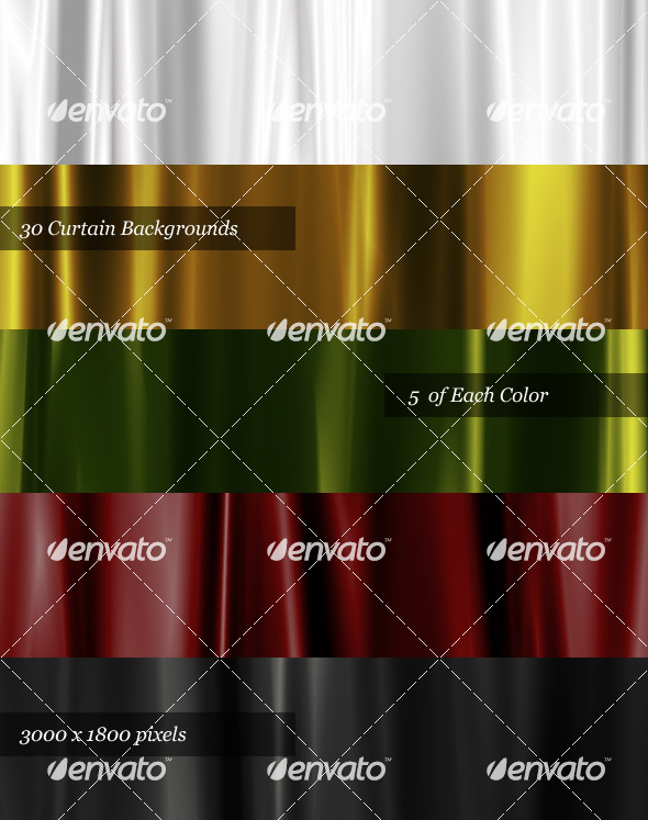 30 Satin Curtain Backgrounds - Miscellaneous Backgrounds