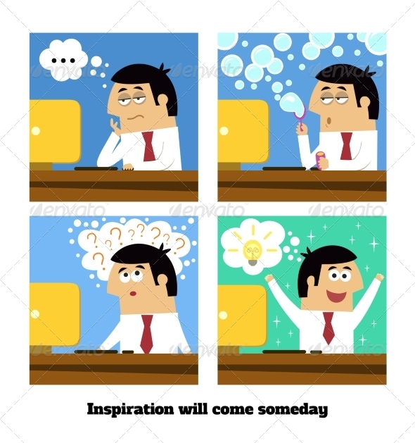 Inspiration Will Come - Concepts Business