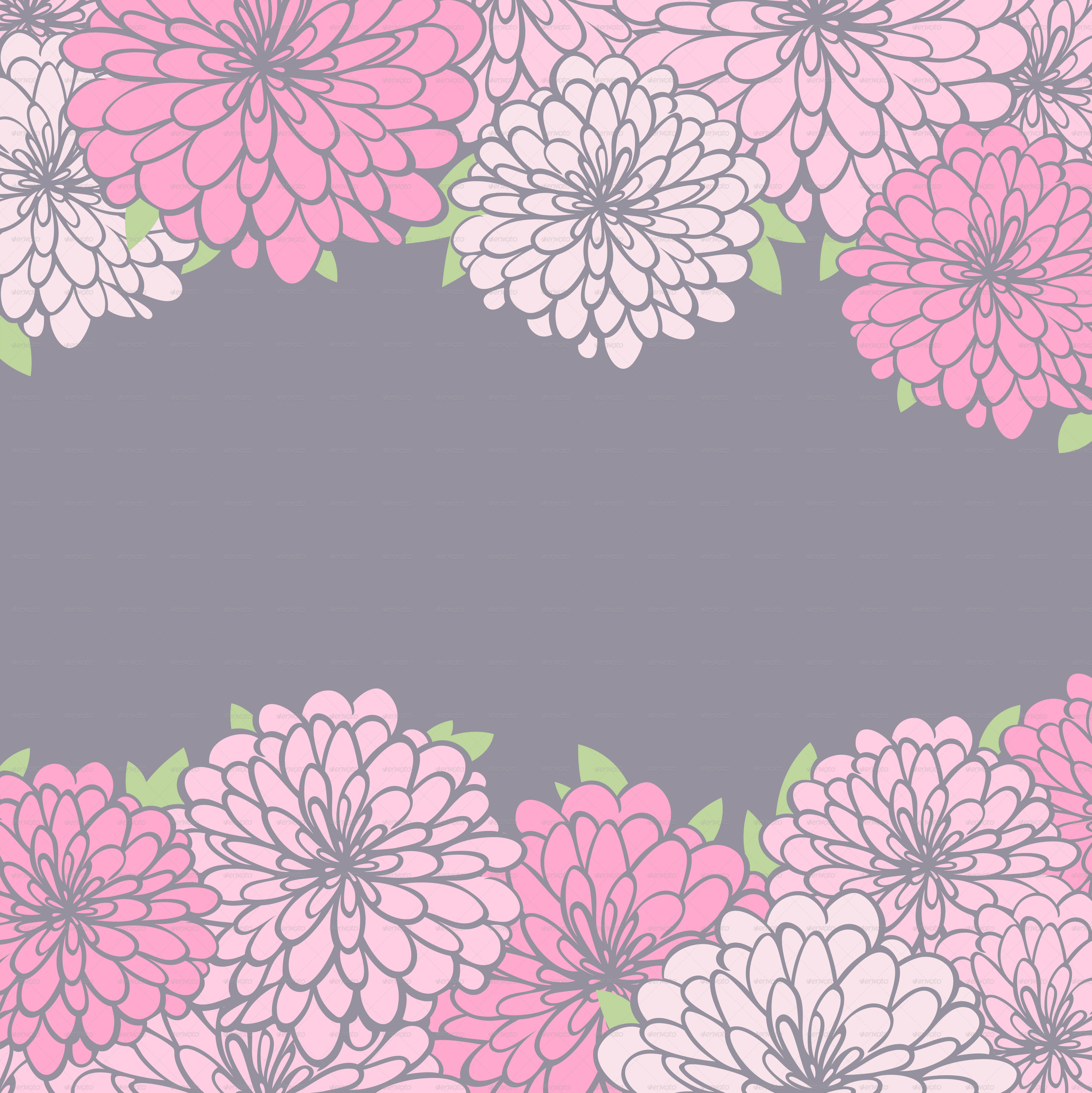 Pink floral seamless vector background floral hrysanthemum seamless - Floral Background And Seamless Pattern Backgrounds Decorative Background_fl Jpg