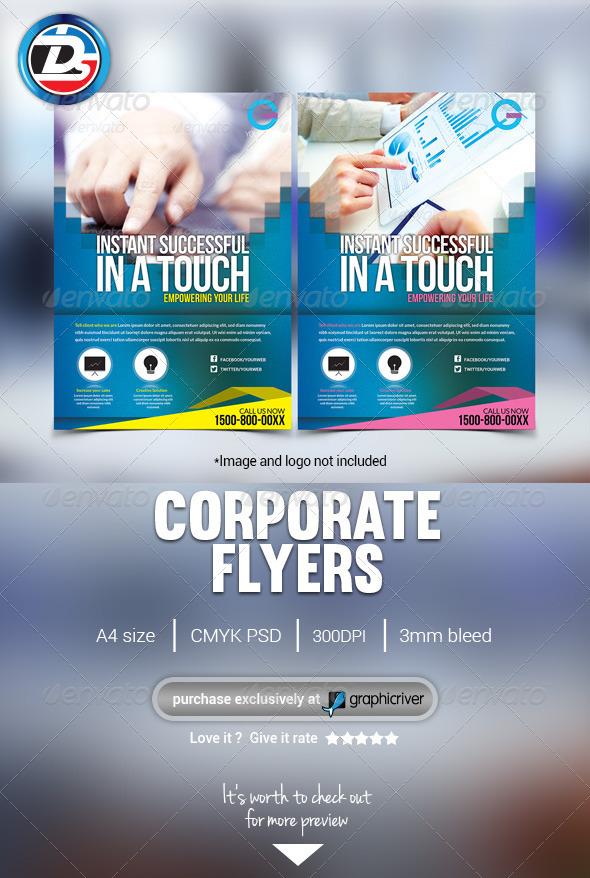 Modern Corporate Flyers/Magazine Ads - Corporate Flyers