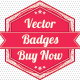 Unique Vector Badges - GraphicRiver Item for Sale