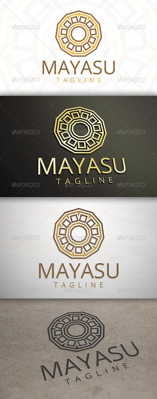Maya Logo - Vector Abstract