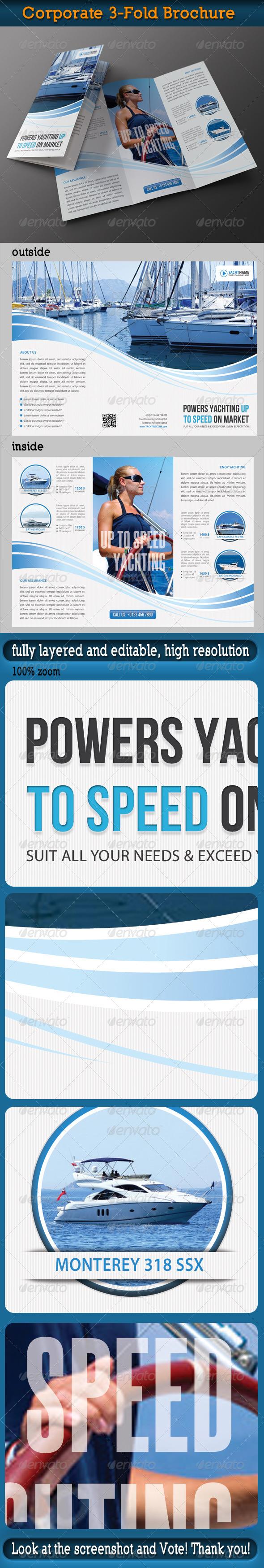 Corporate 3-Fold Brochure 24 - Informational Brochures