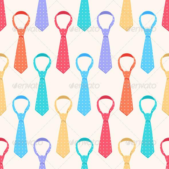 Colored Ties - Decorative Symbols Decorative