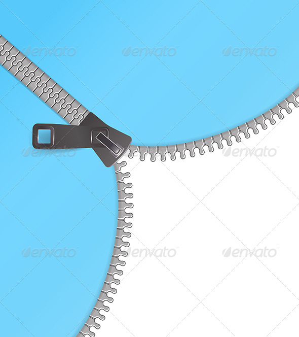 Zipper Vector Background - Objects Vectors