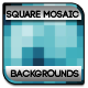 Squared Mosaic Backgrounds - GraphicRiver Item for Sale
