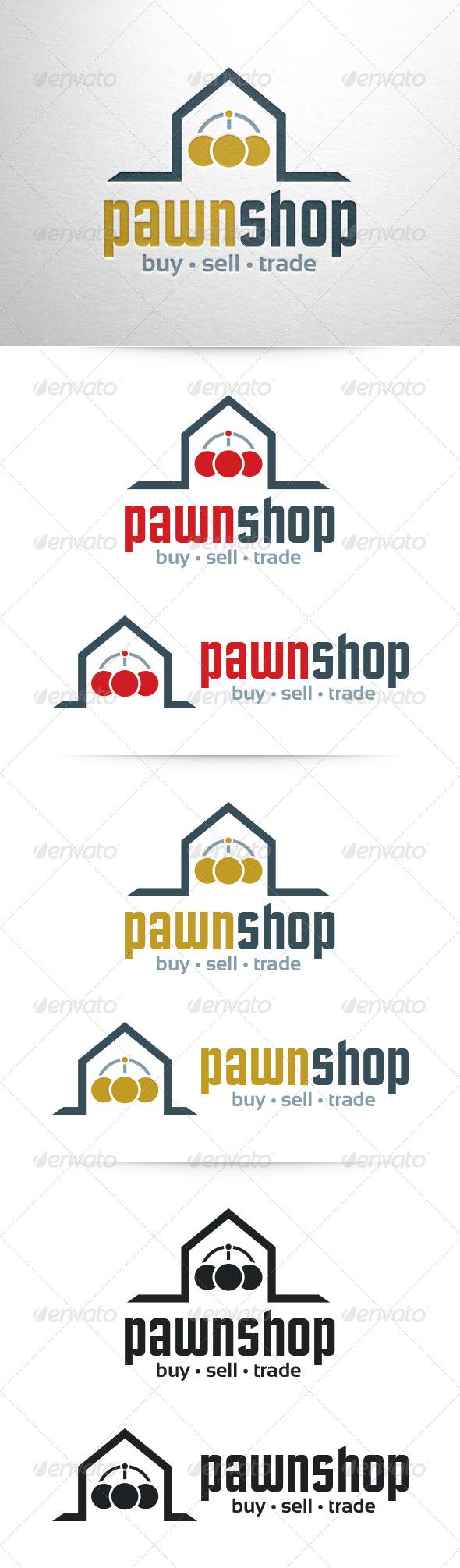 Pawn Shop Logo Template - Symbols Logo Templates