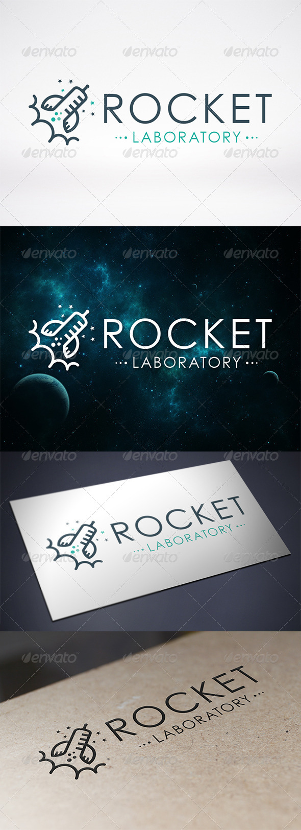 Rocket Lab Logo Template - Objects Logo Templates