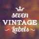 Vintage Labels - GraphicRiver Item for Sale