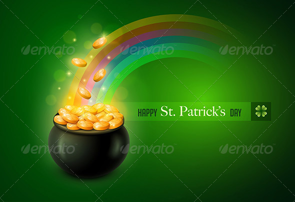 St. Patrick's Day Greeting Card - Seasons/Holidays Conceptual