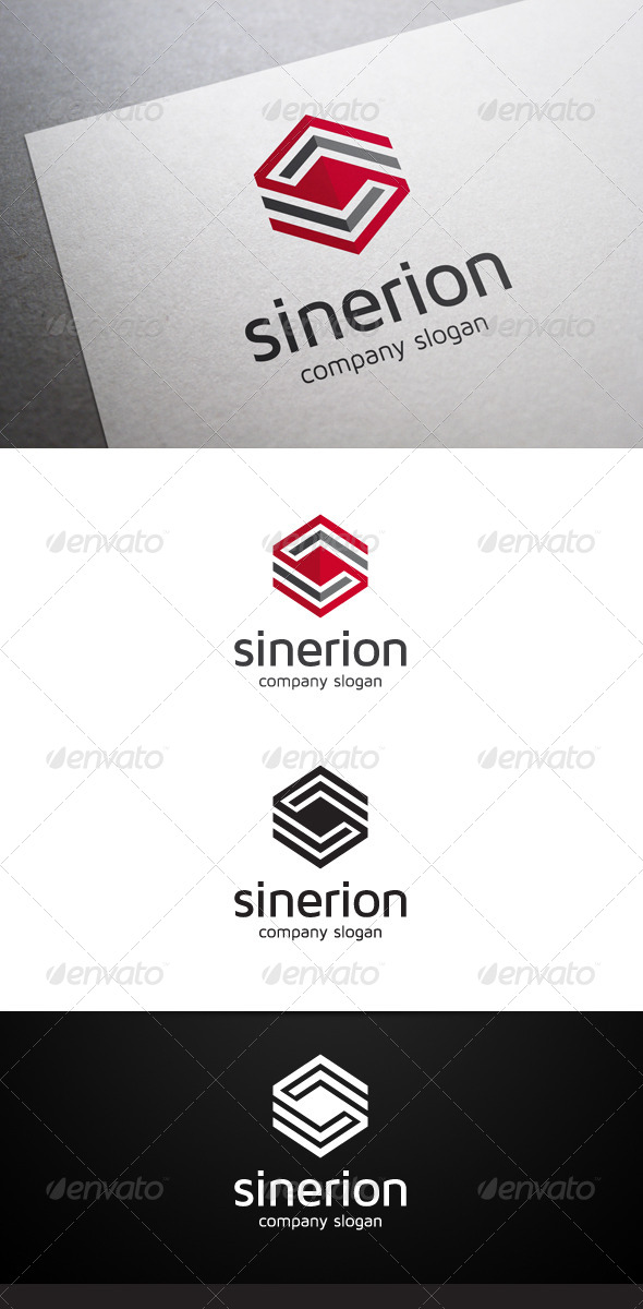 Sinerion Logo - Abstract Logo Templates