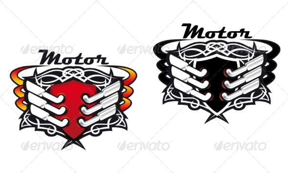 Motor Sports Icons - Sports/Activity Conceptual