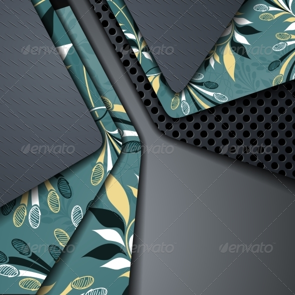 Multi Layered Abstract Background - Abstract Conceptual