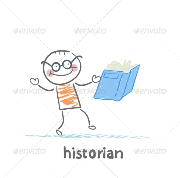Historian Book Readers - People Characters