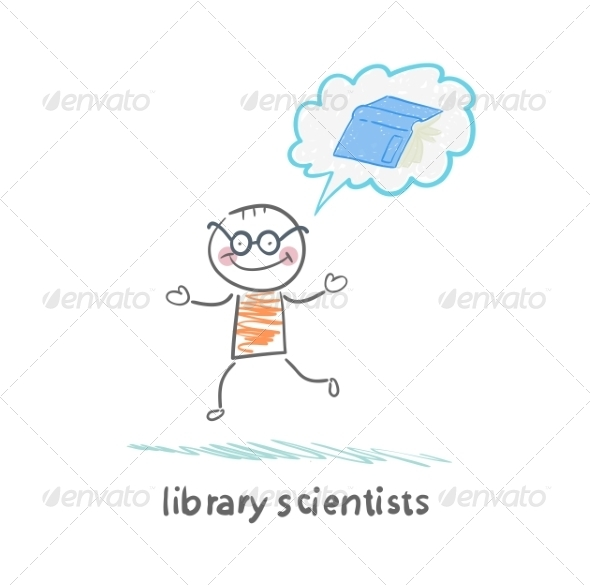 Library Scientists Think About the Book - People Characters