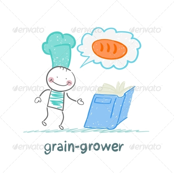 Grain Grower Reads Recipe - People Characters