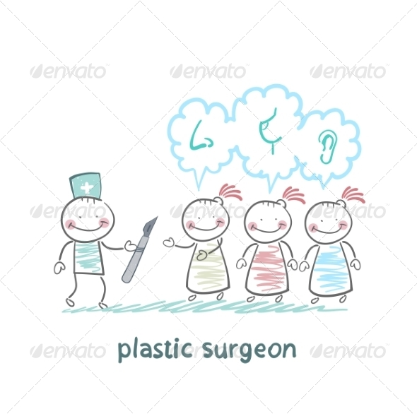 Plastic Surgeon Listens to Patient's Wishes - People Characters