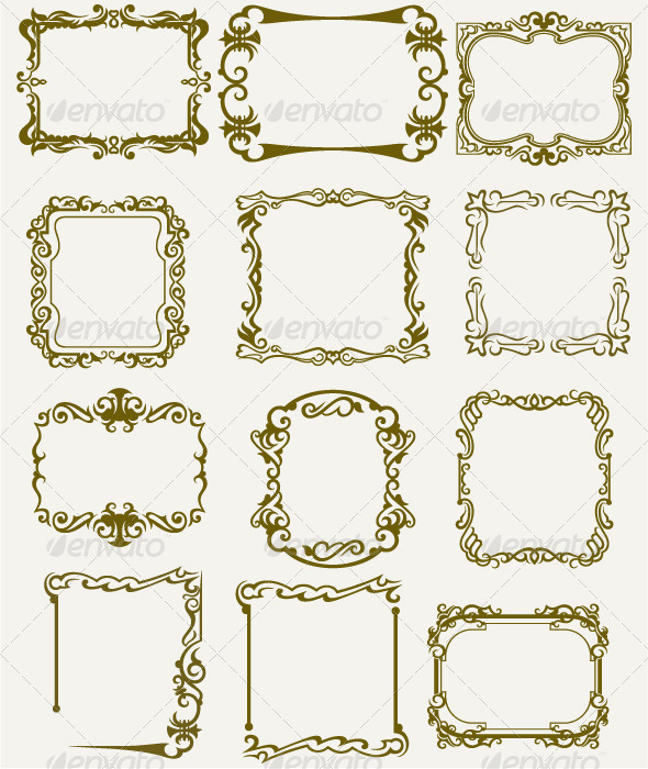 Collection Framework - Borders Decorative