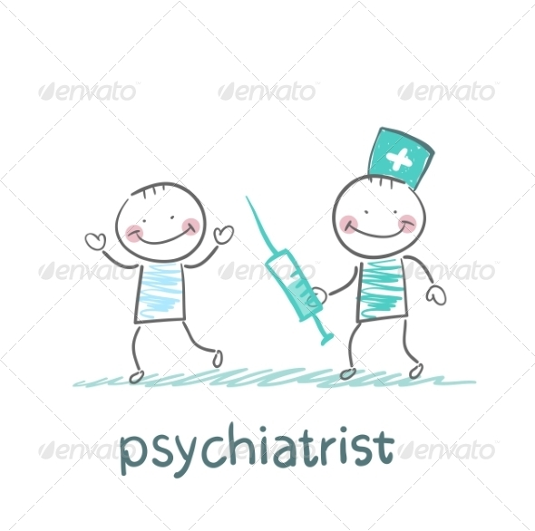 Psychiatrist Catches up with the Syringe - People Characters