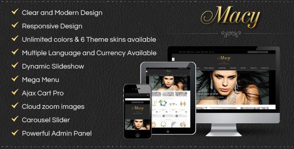 SM Macy – Responsive Magento Theme