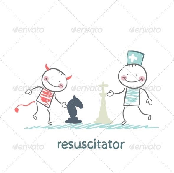 Resuscitator Plays Chess with the Devil - People Characters