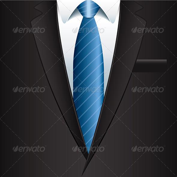 Man Suit Background - Backgrounds Decorative