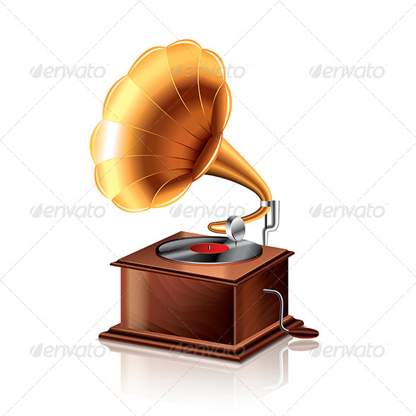 Classic Gramophone  - Retro Technology