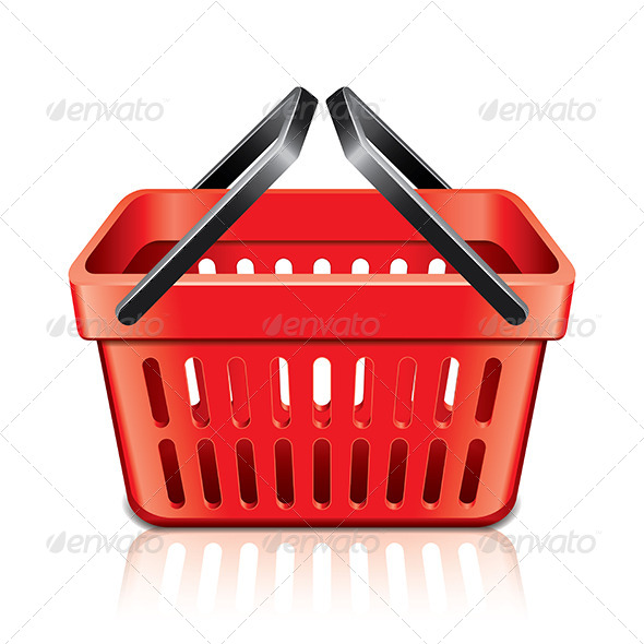 Empty Shopping Basket - Services Commercial / Shopping