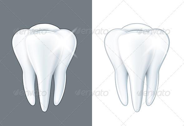 Shiny Tooth  - Health/Medicine Conceptual