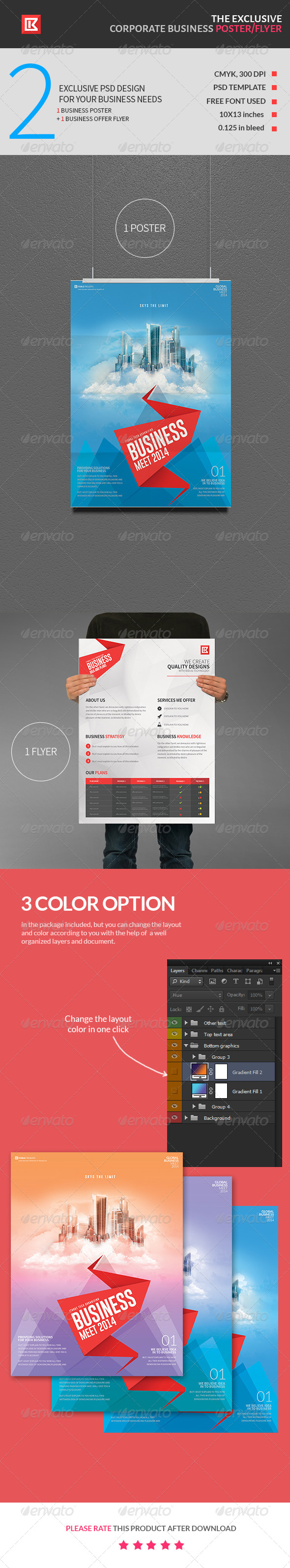 Exclusive Corporate Business Poster and Flyer - Corporate Flyers
