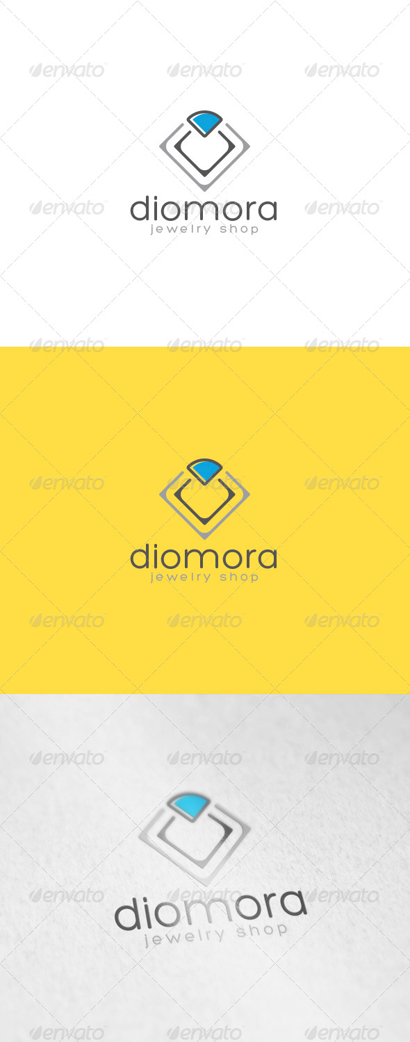 Diamora Logo - Vector Abstract